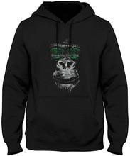 Cool Future Matrix Monkey Ape Shades Men's Dj Hacker Hipster   100% Cotton Man Tops  Hoodies & Sweatshirts