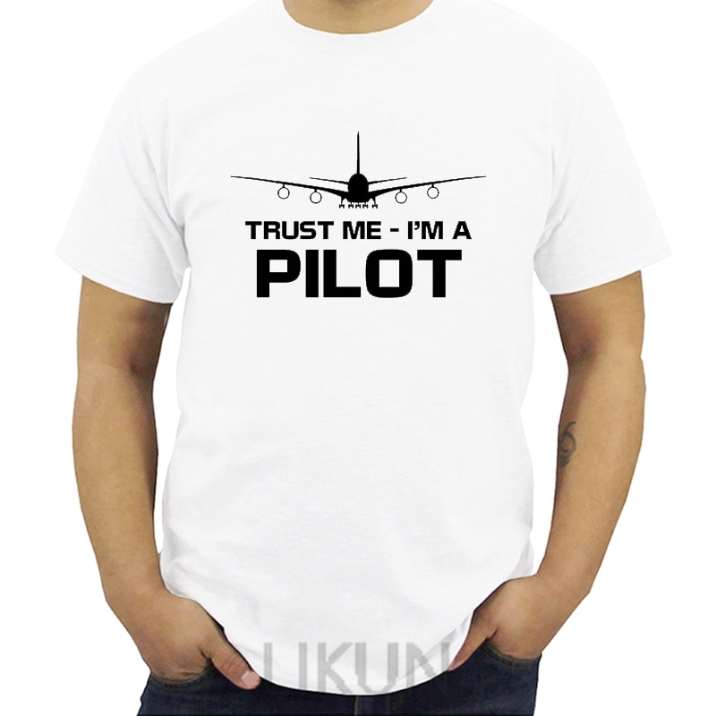 Nueva camiseta de moda para hombre Teestrust Me IM A camiseta piloto divertido vuelo capitán vuelo aeroplano regalo camiseta Streetwear