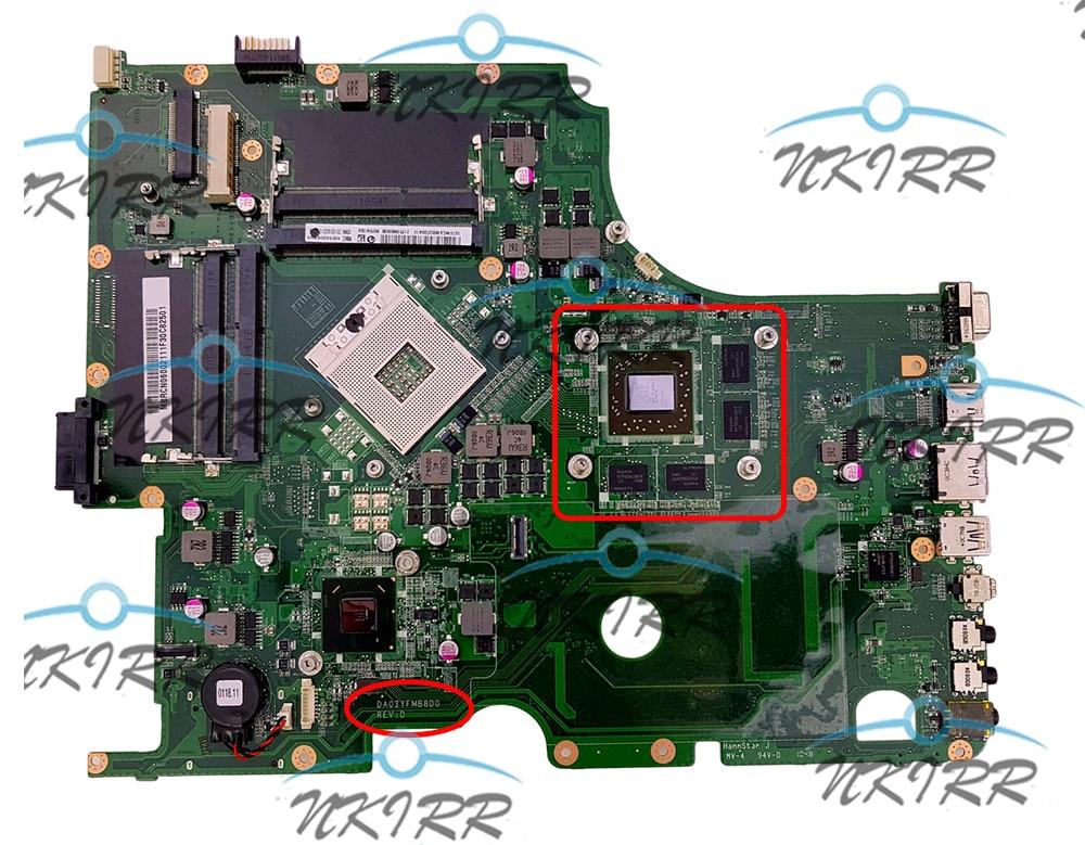 DA0ZYFMB8D0 ZYF MBRCR06002 MBRCN06001 MBRCN06002 HD6850M اللوحة لشركة أيسر أسباير 8950G 8950
