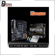 AMD Ryzen 3 3100 R3 3300X Ryzen 5 R5 2600 R5 3600 R5 3400G +ASUS A320M-K/ TUF B450M PRO GAMING + Pumeitou DDR4 2666MHz RAM Suit