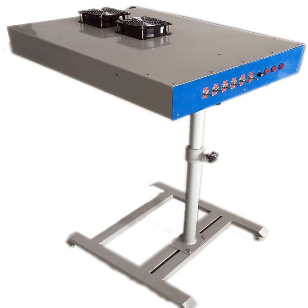 Rotary machine dedicated screen dryer, mobile oven, oven, printing machine, screen printing table, dryer