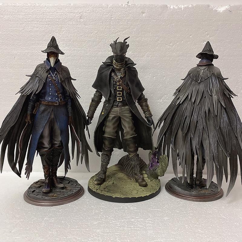 30cm figura Bloodborne Eileen el cuervo Bloodborne el viejo cazador hoz figura de acción 1/6 escala modelo juguetes muñeca