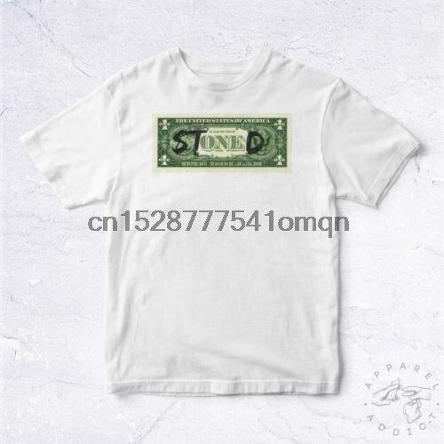 Nueva camiseta camisa drogado Bill dólar BIO hierba Thc piedra alta Sativa Indica 420