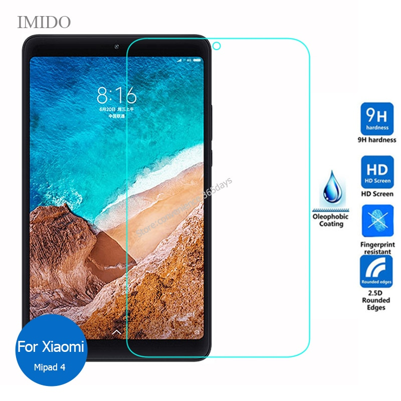 Tempered Glass Screen Protector For Xiaomi Mipad 4 Plus Safety Protective Glass on Xiao Mi Pad 4 Pad4 Plus