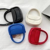 female bag popular shoulder bag simple trendy messenger bag fashion retro clamshell portable small square bag