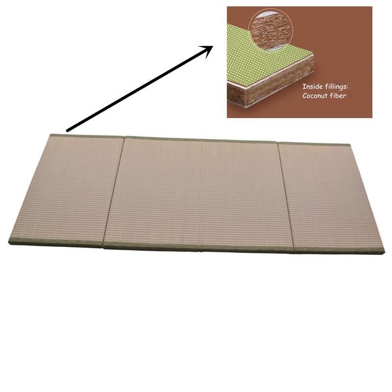 تاتامي للطي فوتون فراش ل سرير النمط الياباني طوي تاتامي فراش المنزل فوتون وسادة أرضية بساط نوم اليابان تصميم