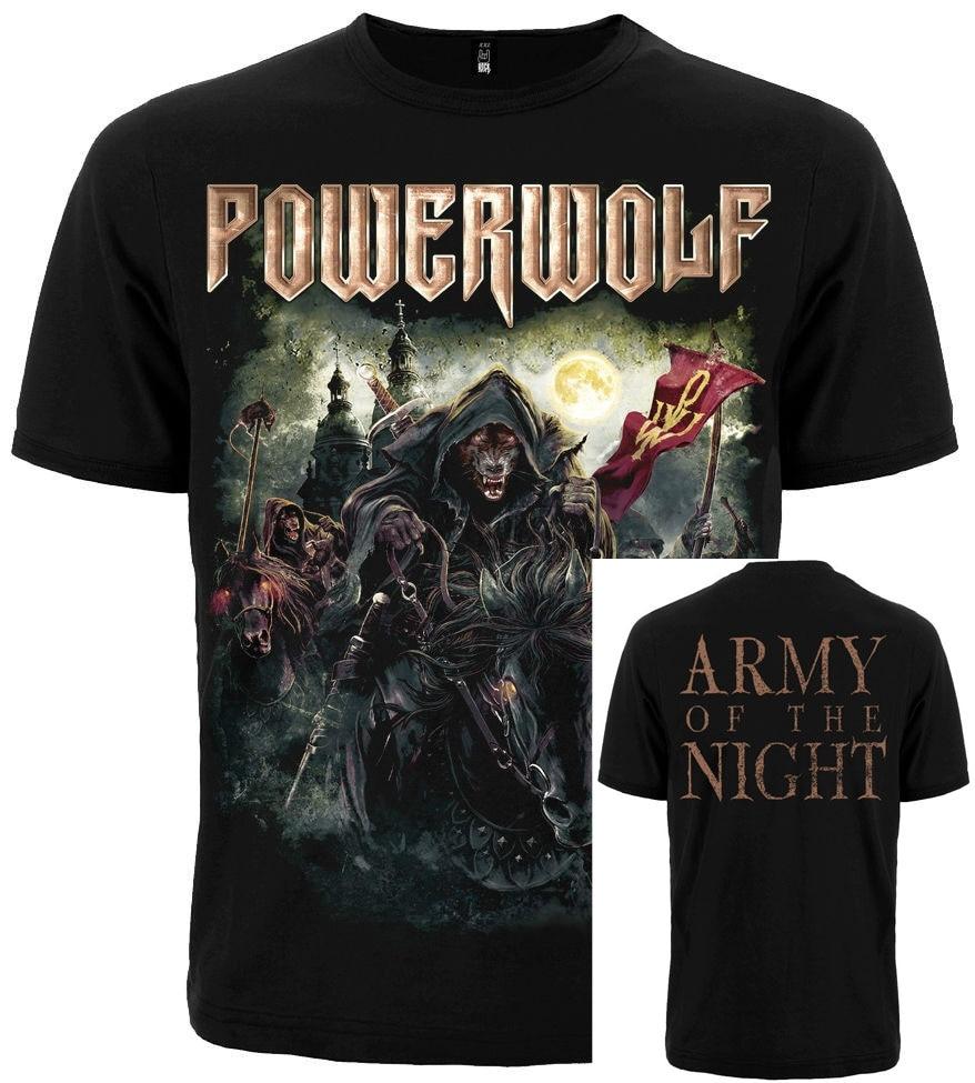 T-shirt POWERWOLF THE METAL MASS. New.Different size. A metal nation band