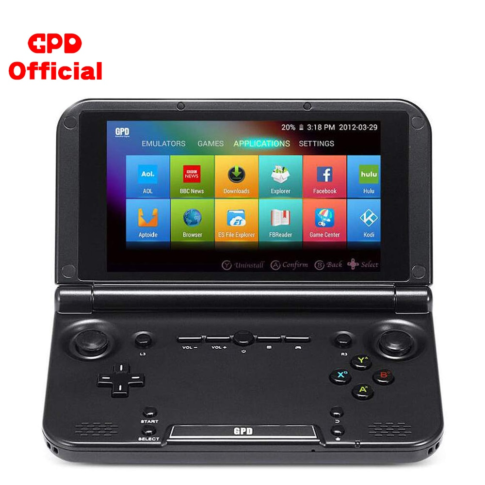 Handhend Game Player Retro Games Console GPD XD Plus Android Touch Screen 5 Inch 4GB HDMI TV Emulator Classic 500 GameS Tablet