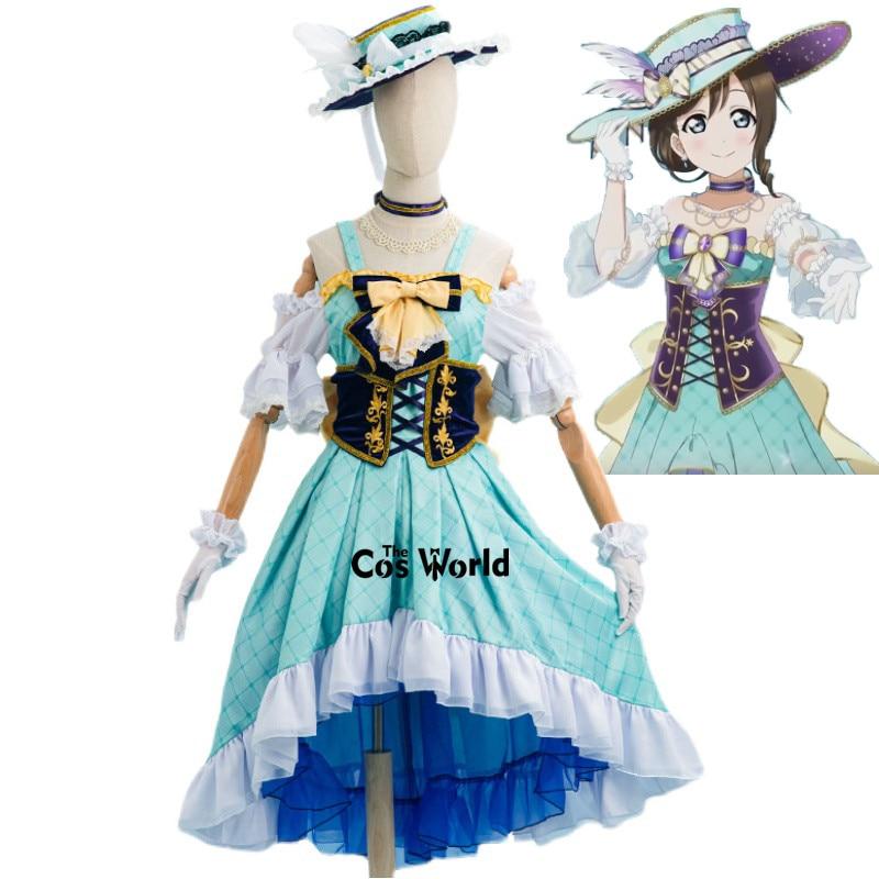 الحب لايف! نيجيغازاكي فقط صدق أوساكا شيزوكو فستان الزي الرسمي أنيمي تخصيص تأثيري ازياء