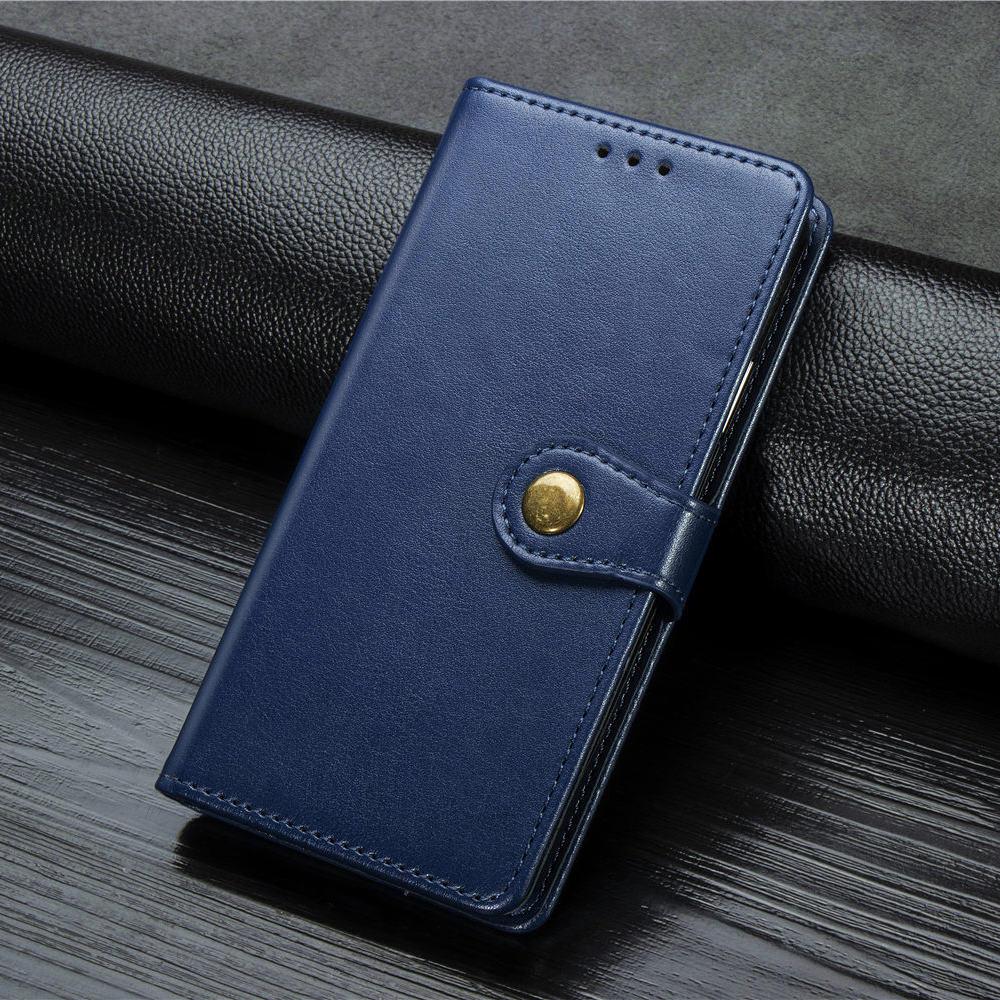 Magnétique Simple coque de téléphone Pour Housse Samsung Galaxy M10 A10 A10S A20E A20S A20 A30 A30S A40 A50 A50S En Cuir Flip Fundas Boîte E05E
