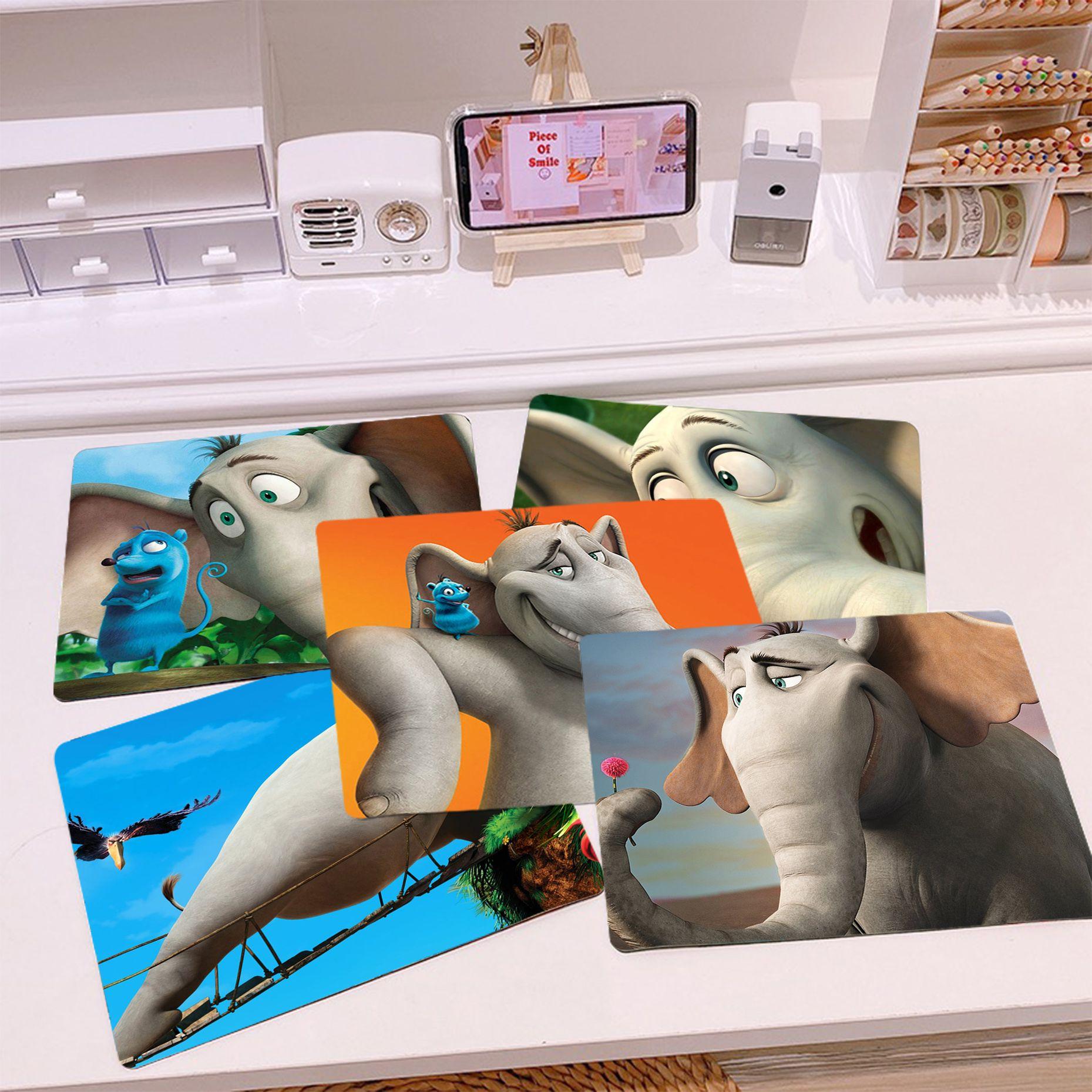 Новое поступление, Disney Horton слышит кто! Высокоскоростной Новый Коврик для мыши Horton, гладкий коврик для письма, настольные компьютеры, коврик ...