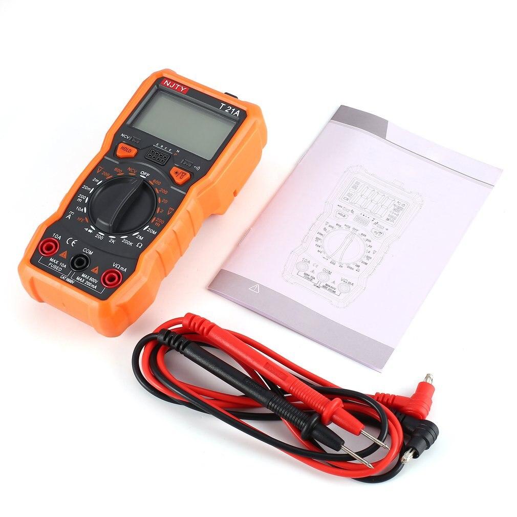 Multímetro Digital, probador de transistores Mastech esr lcr, medidor rm, multímetro Profesional...