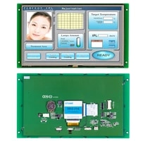embedded open frame touch lcd 10 1 inch with controller program support any mcu microcontroller