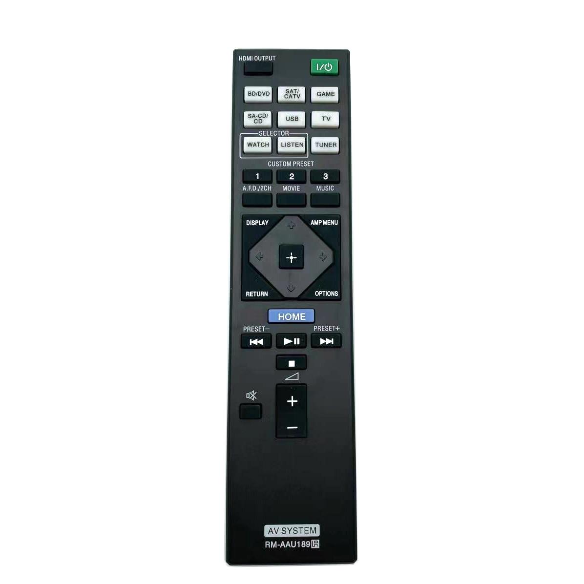 RM-AAU189 Remote Control with For Sony AV Receiver STRDN1050 STRDN850 STR-DN850 HT-CT350