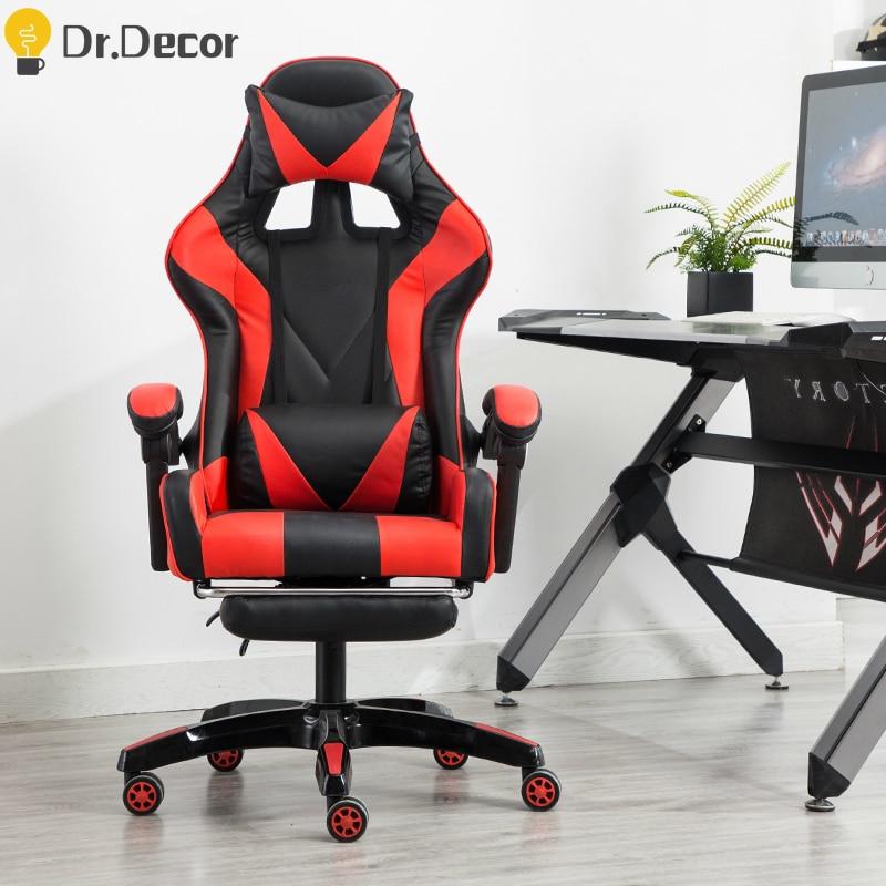 Sillas profesionales de juego DNF LOL, cafés de Internet, sillón de carreras deportivas, silla de juego WCG, silla de mesa, sillas giratorias