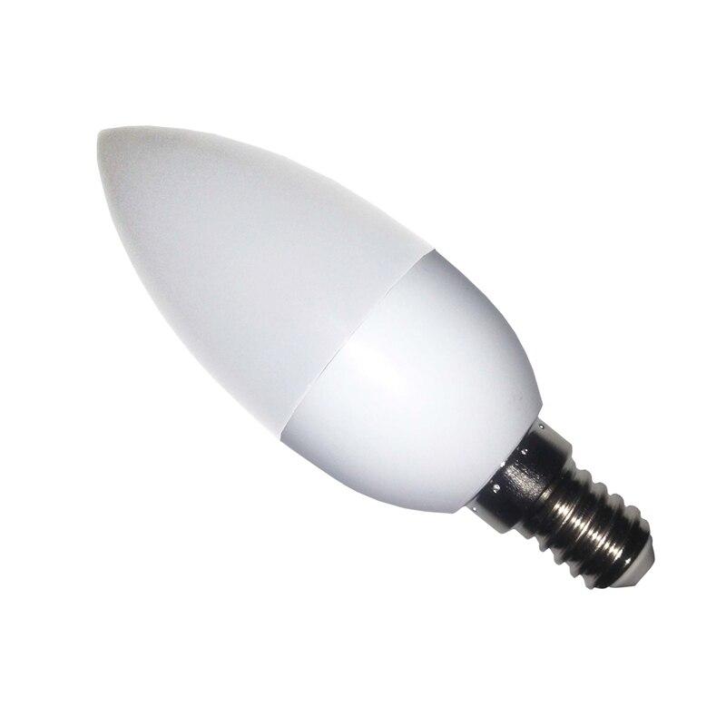 1 Uds Bombilla Led tipo vela E14 SMD2835 220V lámpara de ahorro...