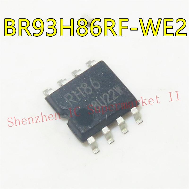 Br93h86 Eeprom serie, Microwire 16K-Bit 1K X 16 2,5 V/3,3 V/5V 8-Pin Sop T/R Alt Br93h86rf-We2 Br93h86rf-We2