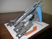 Effet de masse SR 2 vaisseau spatial modèle de papier 3D bricolage