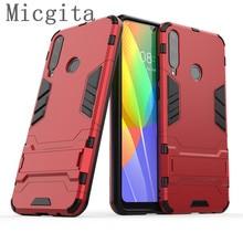 Micgita Fall Für Huawei Y6P Y5P Y7P P Smart 2020 Silikon Plain Halten Anti-klopfen Stoßfest Fall für Ehre 9S 9C X10