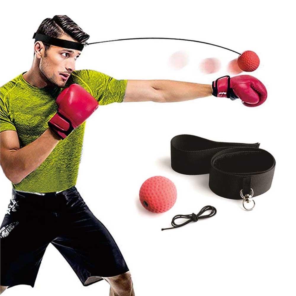 Boks refleks prędkość cios piłka Sanda bokserki podnoszenia siła reakcji ręka oko szkolenia zestaw stres boks Muay Thai ćwiczenie