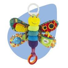 Chłopiec i dziewczynka 0-12 miesięcy zabawki wózek/łóżko wiszące motyl/pszczoła Handbell grzechotka/mobilna gryzak edukacja nadziewane/pluszowe zabawki dla dzieci