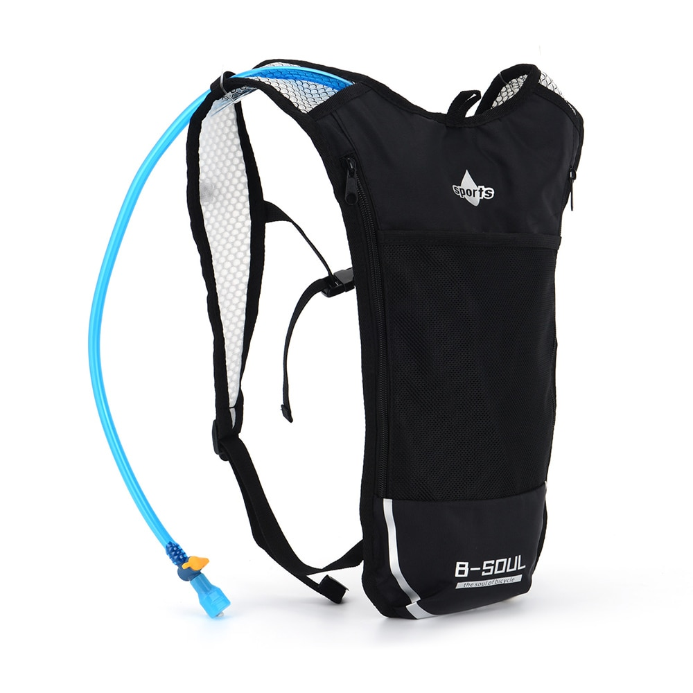 AliExpress - B-SOUL Ultralight Bicycle Backpack Running Vest Bag Ventilation Portable Polyester Bag Hydration Pack Bag for Cycling Hiking