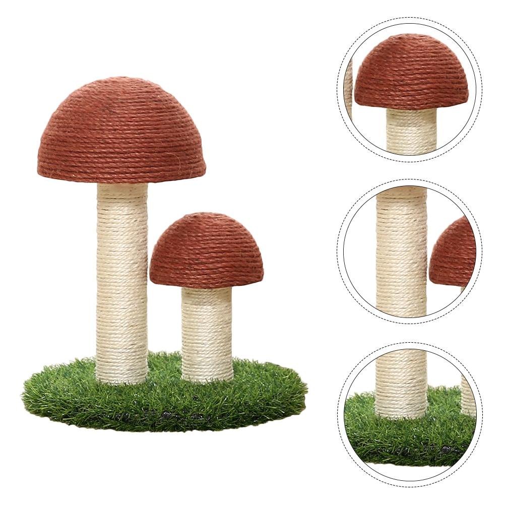 mushroom-shaped-cat-scratching-post-kitten-sisal-board-scratcher-pet-supply