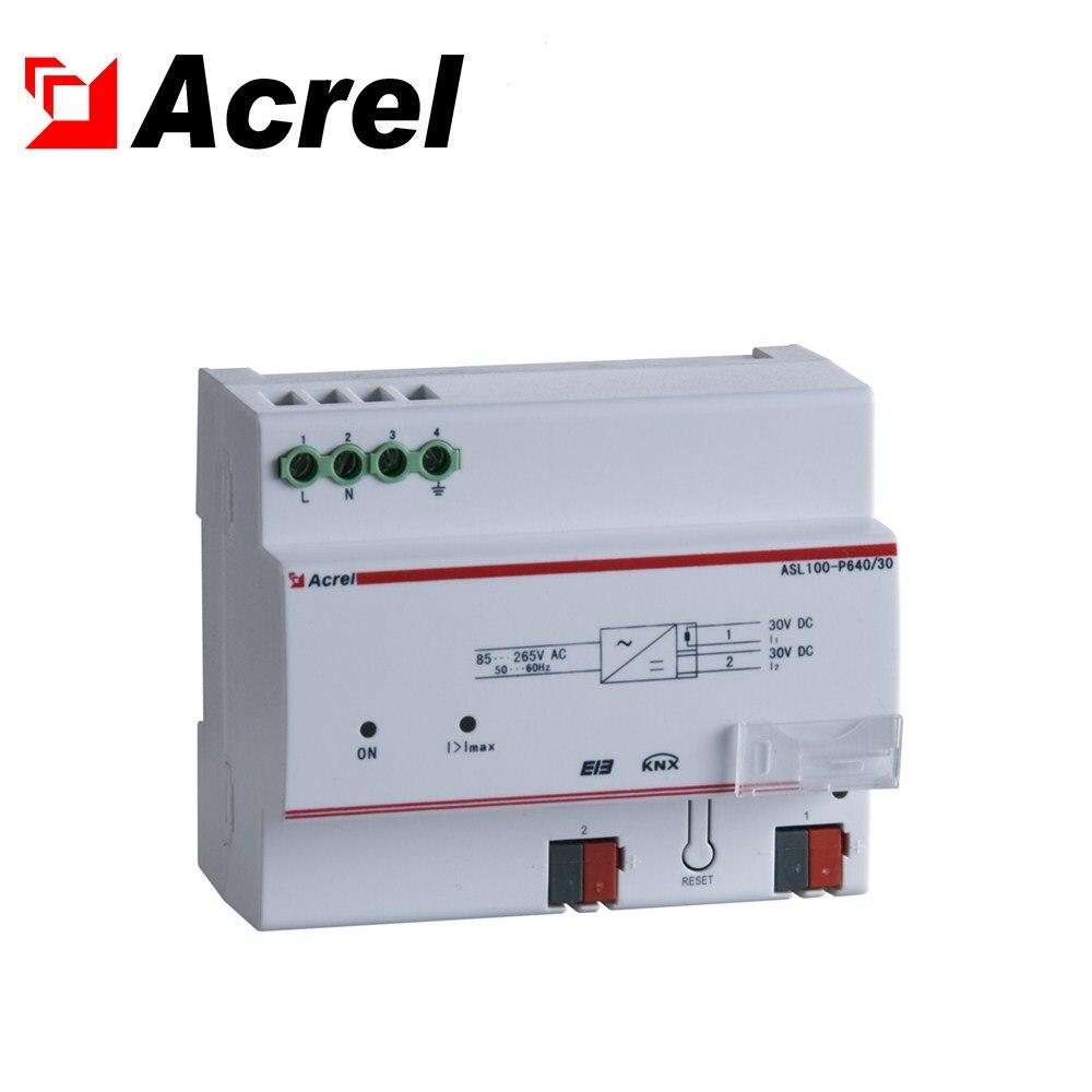 Acrel ASL100-P640/30 knx módulo de fonte de alimentação de iluminação inteligente