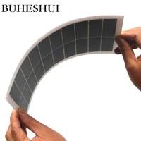 BUHESHUI Semi-flexible 6W 10V ETFE Solar Panel  DIY Solar Panel Battery Charger Sunpower Solar Cell