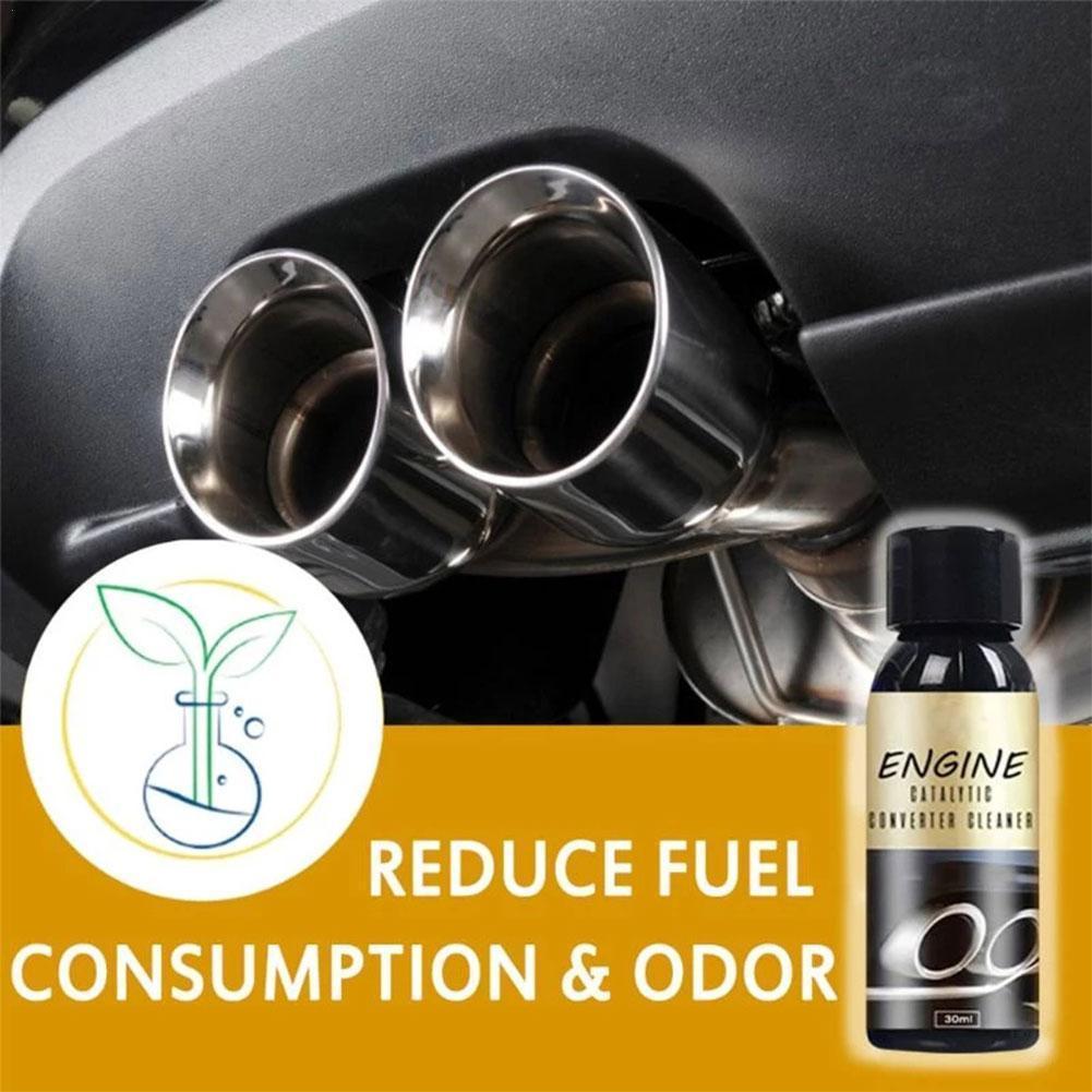 Противоизносостойкое очищающее средство для автомобильного двигателя, катализатора, подъема, удаления пыли, грязи, тяжелого масла, 30 мл