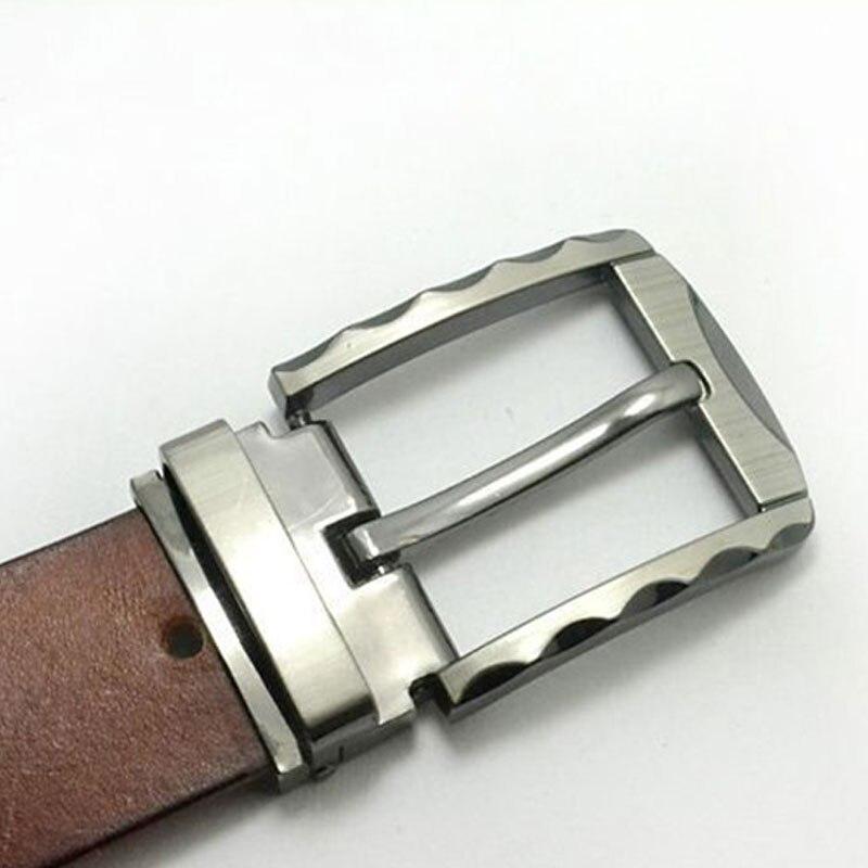 Alta qualidade 40mm fivela de cinto de metal centro médio homens único pino fivela de cinto de liga de couro fivela diy acessórios venda quente