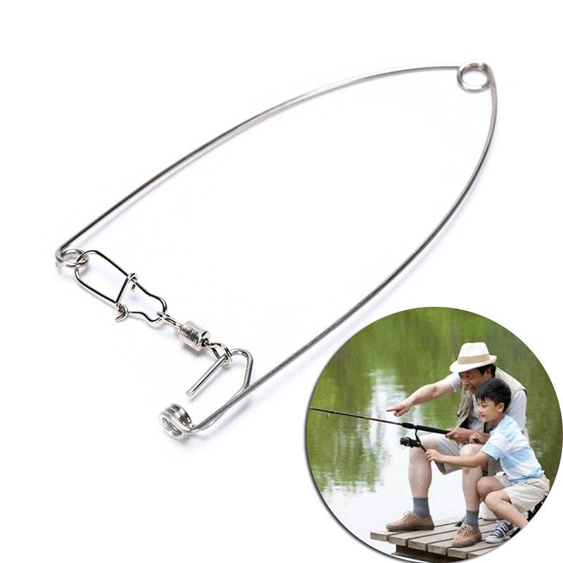 1 pçs gancho de pesca automático com a velocidade mais rápida deus gancho preguiçoso aço inoxidável peixe gancho para todas as águas suprimentos de engrenagem de pesca