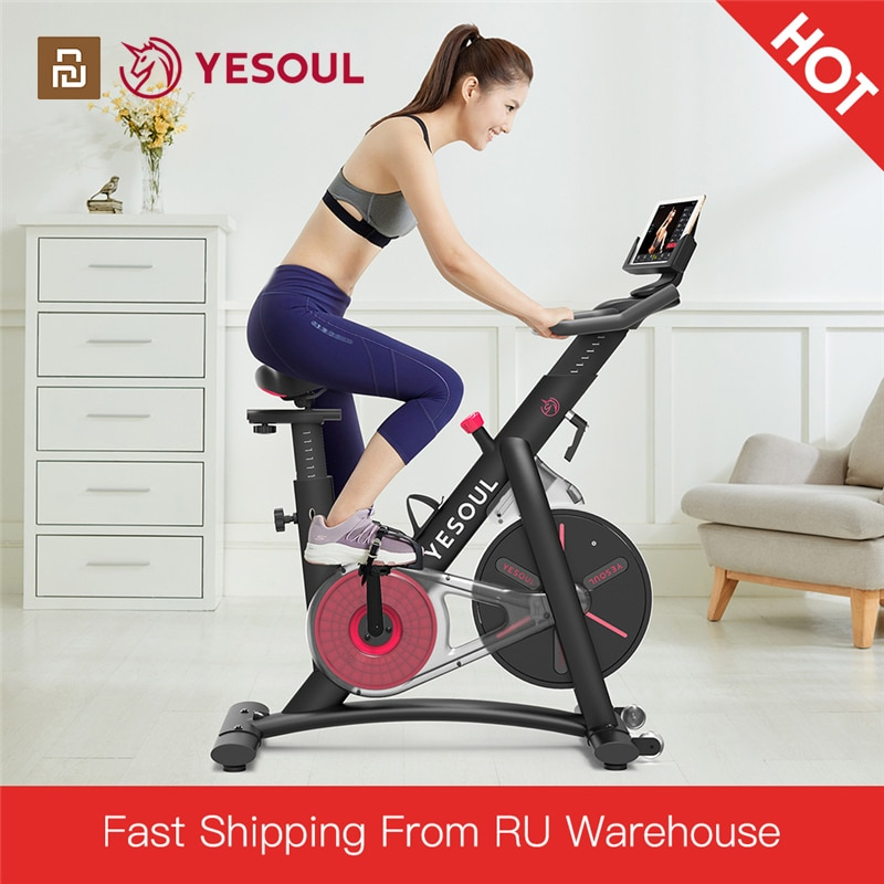 [EU Direct] YESOUL S3 Slient Smart Home Fitness Exercise Bike Indoor Cycling Bike Body Building Gym