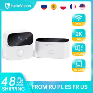 Heimvision Assure B1 2K IP Camera Wifi Battery Wireless Home Security Camera System PIR Motion Detection Color Night Vision