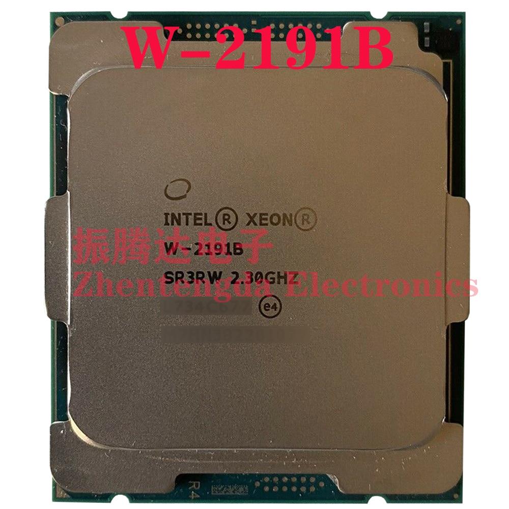 Intel Xeon W-2191B CPU 18 Core 36 Threads 2.3 GHz LGA 2066 W-2191B CPU Processor