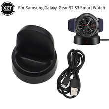 Беспроводное быстрое зарядное устройство для Samsung Gear S3/S2 Frontier Watch зарядный кабель для Samsung Galaxy Watch S2/S3 46 мм/42 мм Зарядка