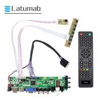 Latumab New Kit for N140BGE-L42 TV+HDMI+VGA+USB LCD LED screen Controller Driver Board Free shipping