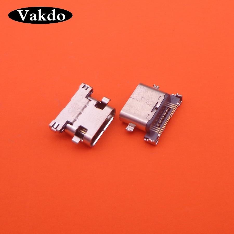 5 unids/lote conector hembra Micro USB tipo C para LG Google Nexus 5X H790 H791 H798 piezas de repuesto