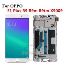 "5.5 ""OPPO F1 Plus LCD R9 X9009 디스플레이 + 터치 패널 스크린 디지타이저 센서 어셈블리 (OPPO R9 R9m R9tm LCD 용)"
