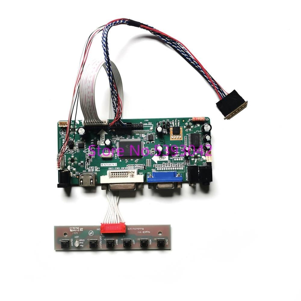 Fit B156XW03 V.0/V.1/V.2 VGA DVI LVDS 40Pin WLED 1366*768 LCD لوحة 15.6