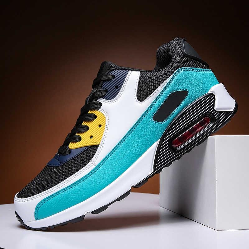 QZHSMY Air Sneakers zapatos de hombre calzado masculino diseñador zapatos de hombre para ocio malla ligera elegante moda de lujo para hombre adulto