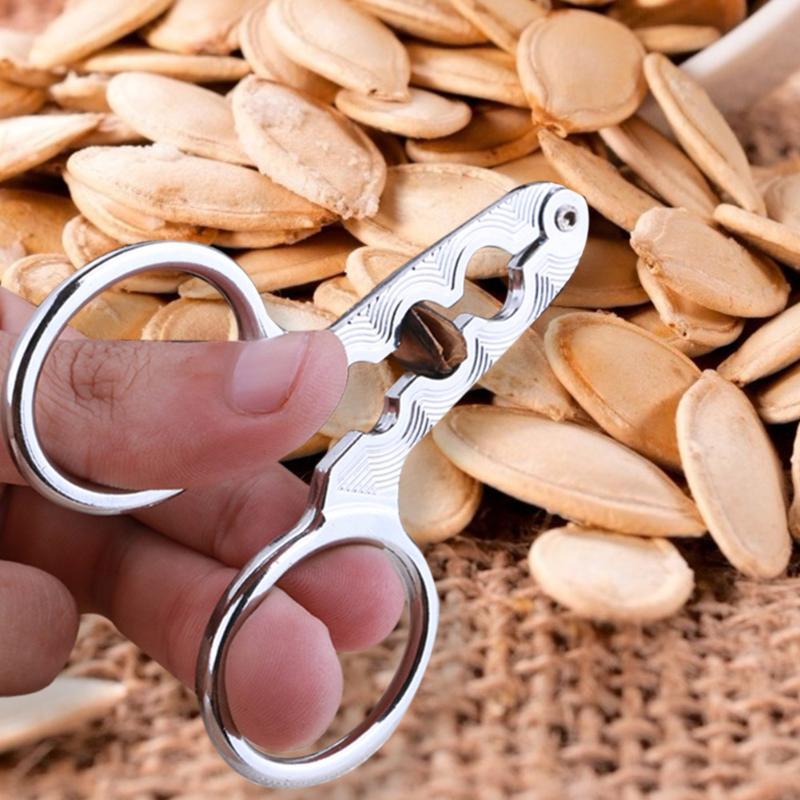 Sunflower Tongs Melon Seed Opener Clamp Nutcracker Walnut Sheller Pliers shell opener kitchen special tool