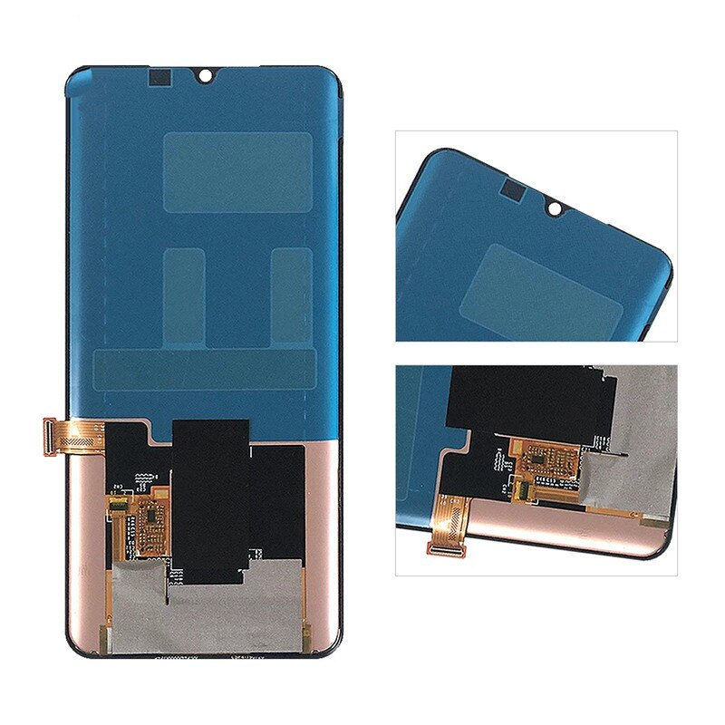 Original AMOLED For Xiaomi Mi Note 10 M1910F4G LCD Display Screen Touch Digitizer Panel Assembly enlarge
