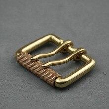 Boucle de ceinture à aiguille laiton masculin   Classique américain, boucles de ceinture à Double aiguille largeur 38mm