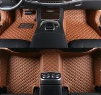 custom car floor mats leather for opel astra j h g antara vectra zafira interior accessories auto floor mats car accessories