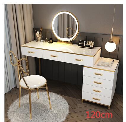 Nordic светильник класса люкс туалетный столик спальня чистый красный ins туалетный столик/туалетный столик лампа современный простой многофу...