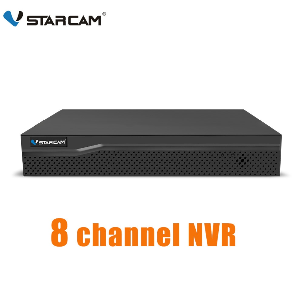 Vstarcam-مسجل فيديو شبكي عالي الدقة ، إدخال صوتي 8CH NVR ، HDMI لكاميرا IP N8209