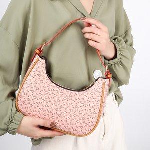 2021 New One Shoulder Underarm Bag PU Leather Small Fresh Wear Crossbody Messenger Bag For Women Luxury Designer Handbag