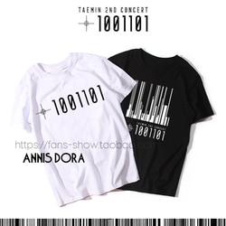 Camiseta shinee taemin 2nd concert t1001101 2 patrol