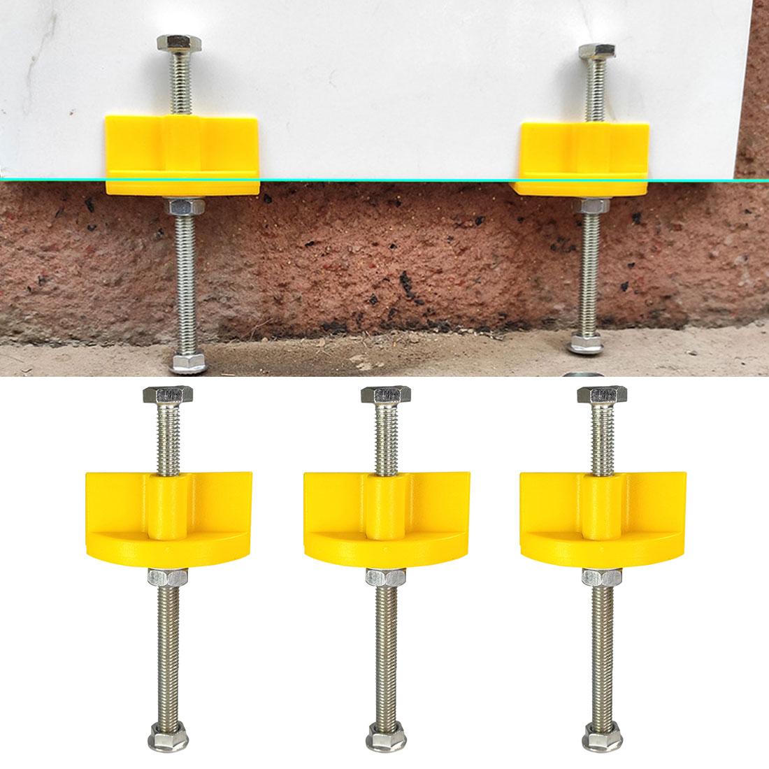 Manual de Parede Ajuste Altura Regulador Telha Localizador Parede Cerâmica Nivelamento Ferramenta Construção 10 Pçs